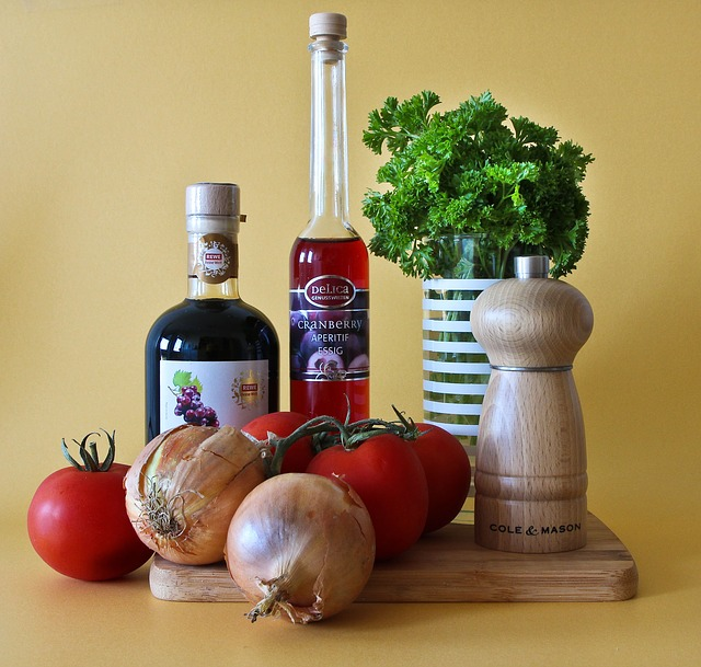 ocet a zelenina