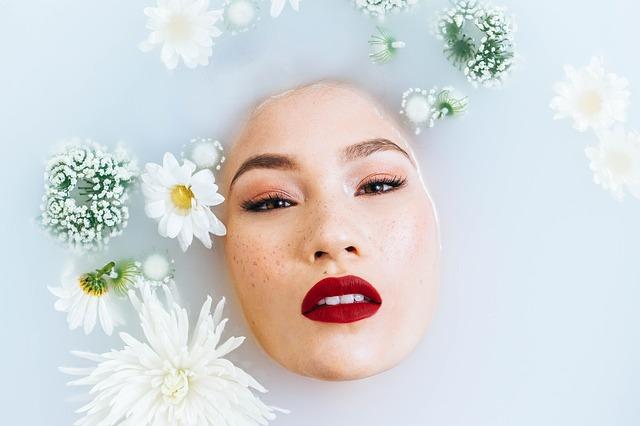 květinová koupel