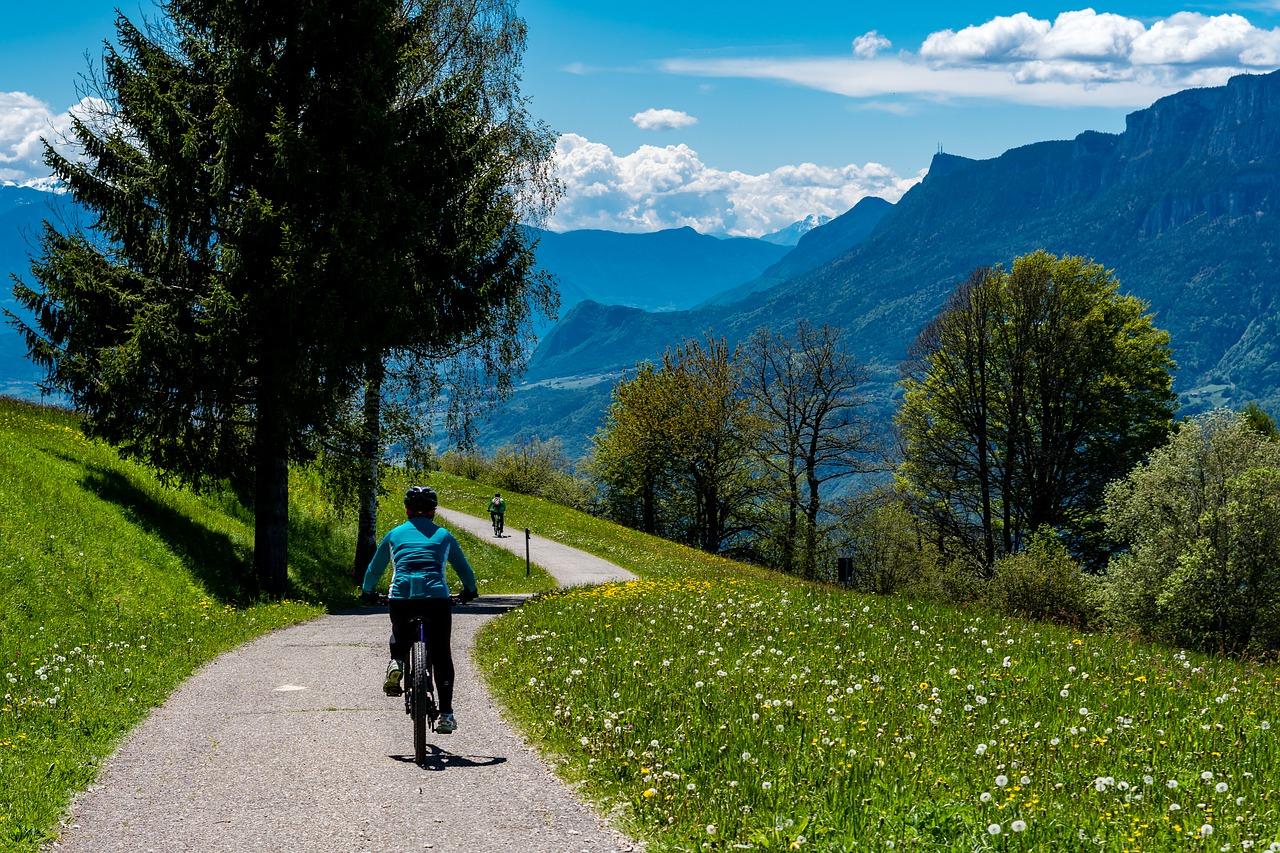 jízda v horském terénu
